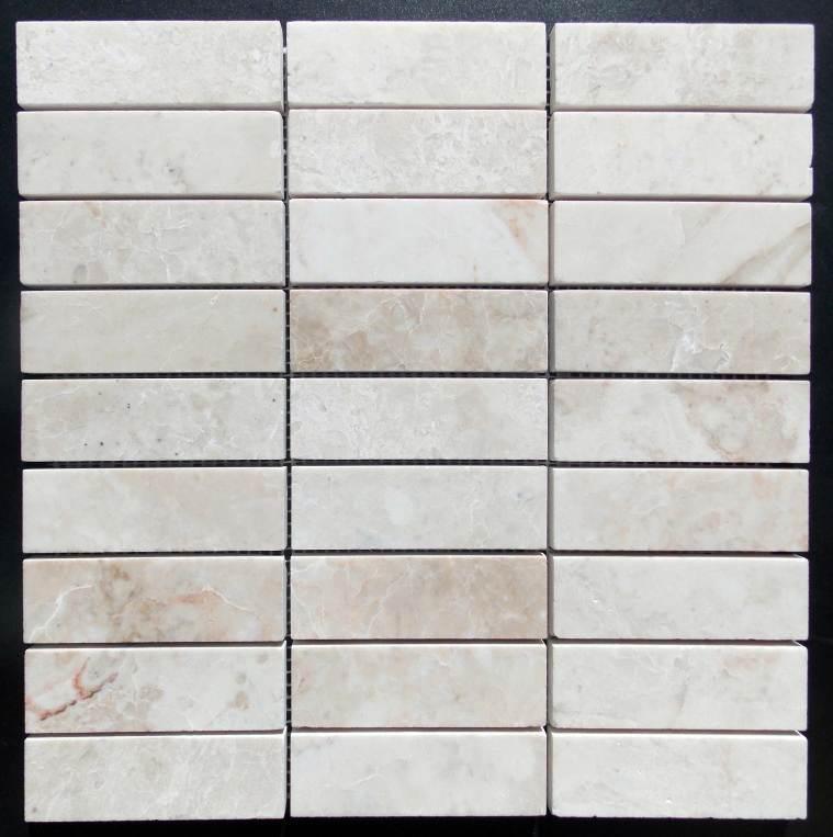 30 x 100 Marble Platinum Beige Pol